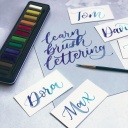 Modern Calligraphy Brush Lettering